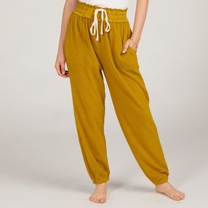Free People Slouch Joggers in Cactus